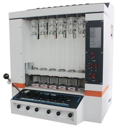 上海纤检SLQ-200粗纤维测定仪